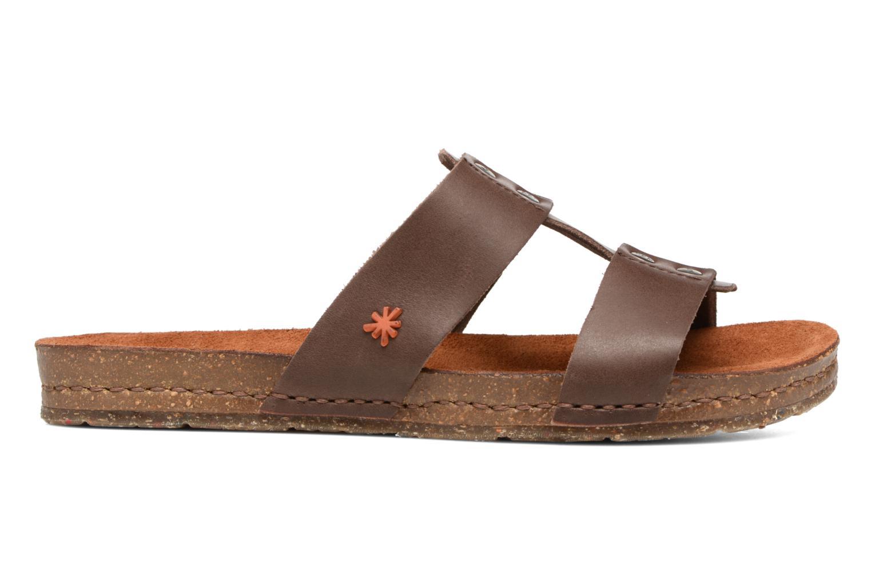 Sandales et nu-pieds Art Creta 418 Marron vue derrière