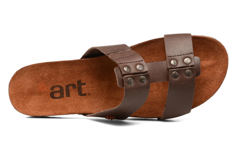 Sandales et nu-pieds Art Creta 418 Marron vue gauche