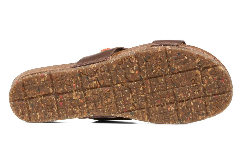 Sandales et nu-pieds Art Creta 418 Marron vue haut