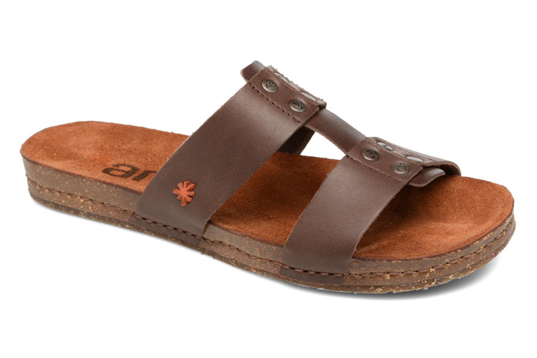 Sandales et nu-pieds Art Creta 418 Marron vue détail/paire