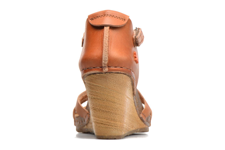 Sandales et nu-pieds Art Valby 438 Marron vue droite
