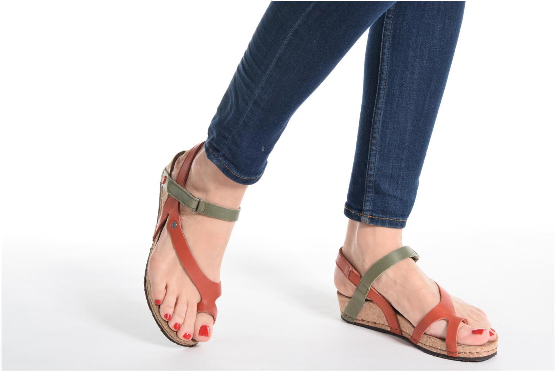 Sandales et nu-pieds Art Pompei 737 Marron vue bas / vue portée sac