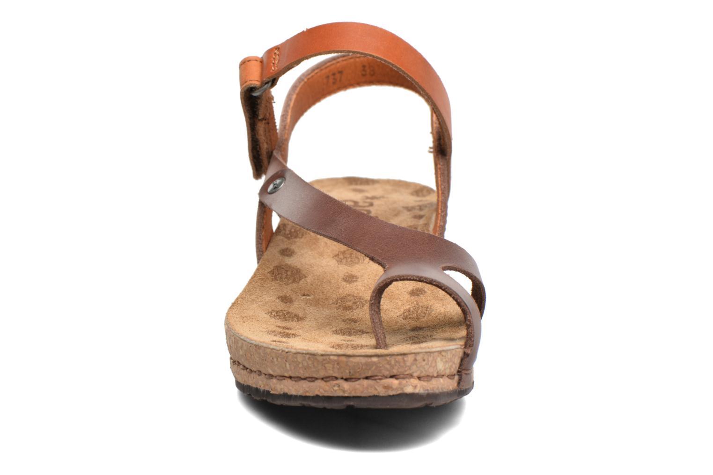 Sandales et nu-pieds Art Pompei 737 Marron vue portées chaussures
