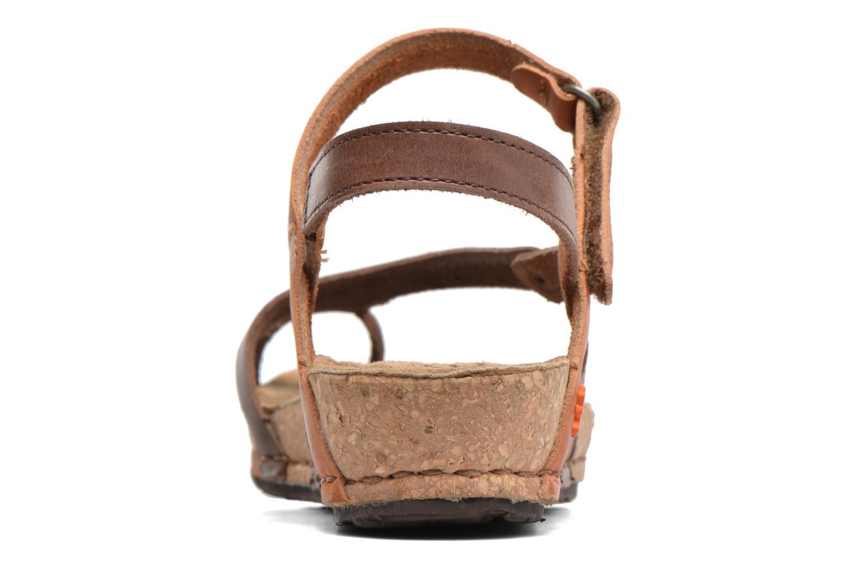 Sandales et nu-pieds Art Pompei 737 Marron vue droite