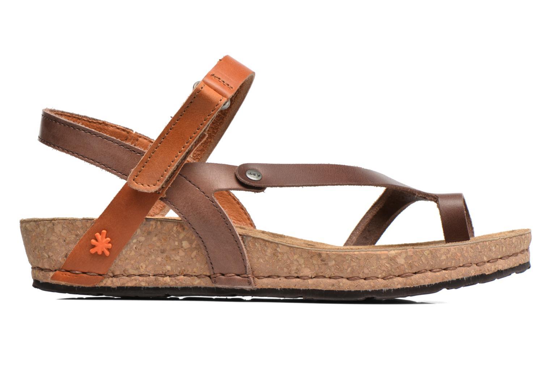 Sandales et nu-pieds Art Pompei 737 Marron vue derrière