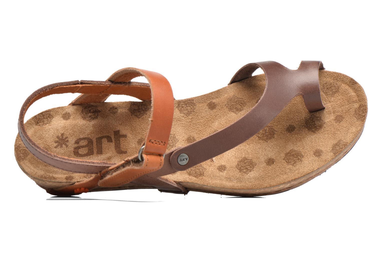 Sandales et nu-pieds Art Pompei 737 Marron vue gauche