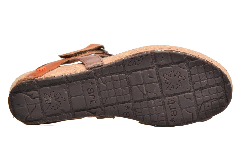 Sandales et nu-pieds Art Pompei 737 Marron vue haut