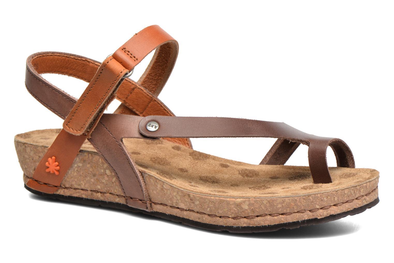 Sandales et nu-pieds Art Pompei 737 Marron vue détail/paire