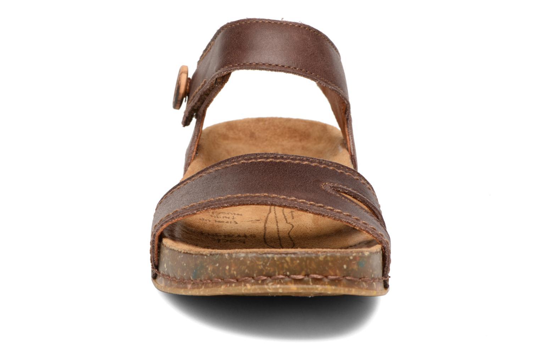 Sandales et nu-pieds Art We Walk 866 Marron vue portées chaussures