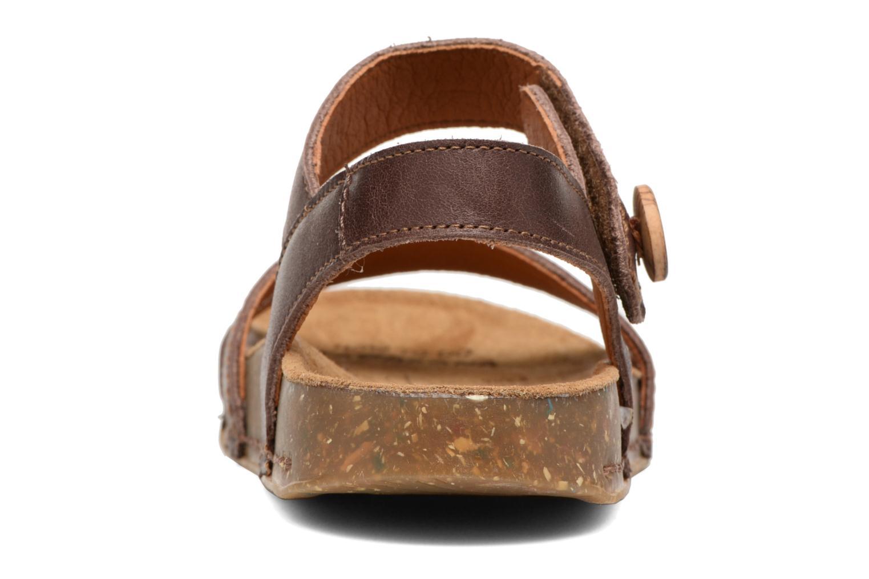 Sandales et nu-pieds Art We Walk 866 Marron vue droite