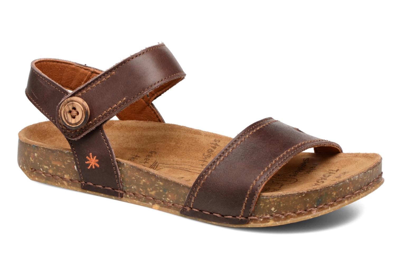 Sandales et nu-pieds Art We Walk 866 Marron vue détail/paire