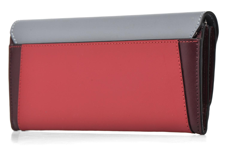 Petite Maroquinerie Le Tanneur Porte monnaie Lily long 8 cc Multicolore vue droite