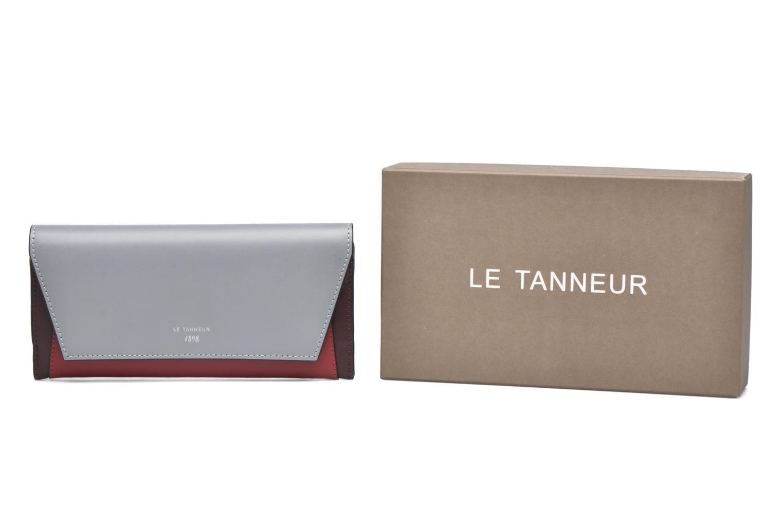 Petite Maroquinerie Le Tanneur Porte monnaie Lily long 8 cc Multicolore vue détail/paire