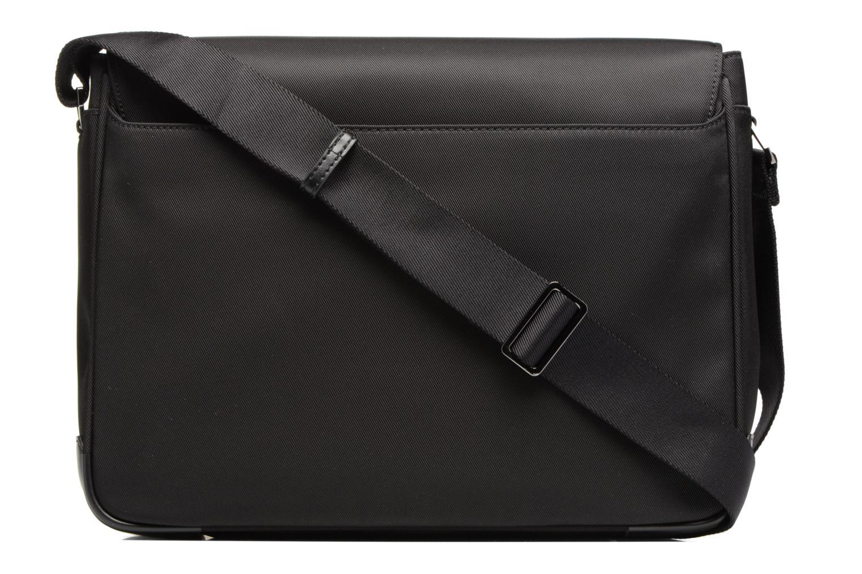 Men's bags Le Tanneur Messenger Cuir Audacieux Black front view
