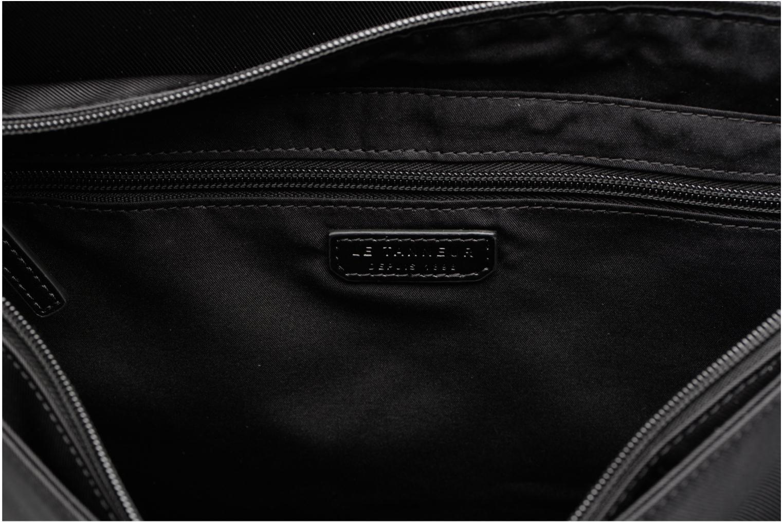 Men's bags Le Tanneur Messenger Cuir Audacieux Black back view