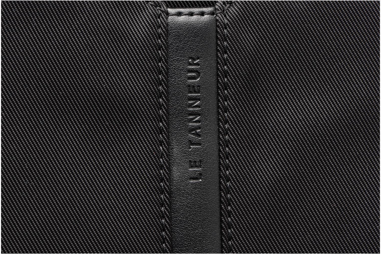 Men's bags Le Tanneur Messenger Cuir Audacieux Black view from the left