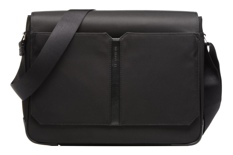 Men's bags Le Tanneur Messenger Cuir Audacieux Black detailed view/ Pair view