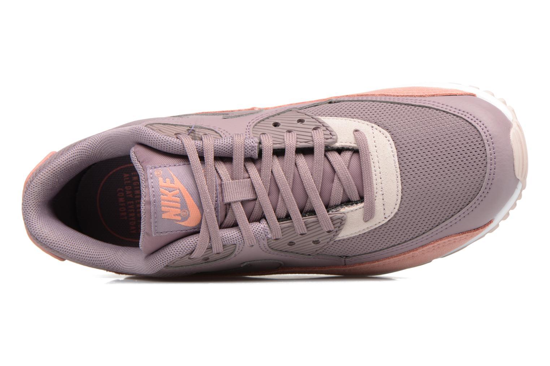 Baskets Nike Wmns Air Max 90 Rose vue gauche