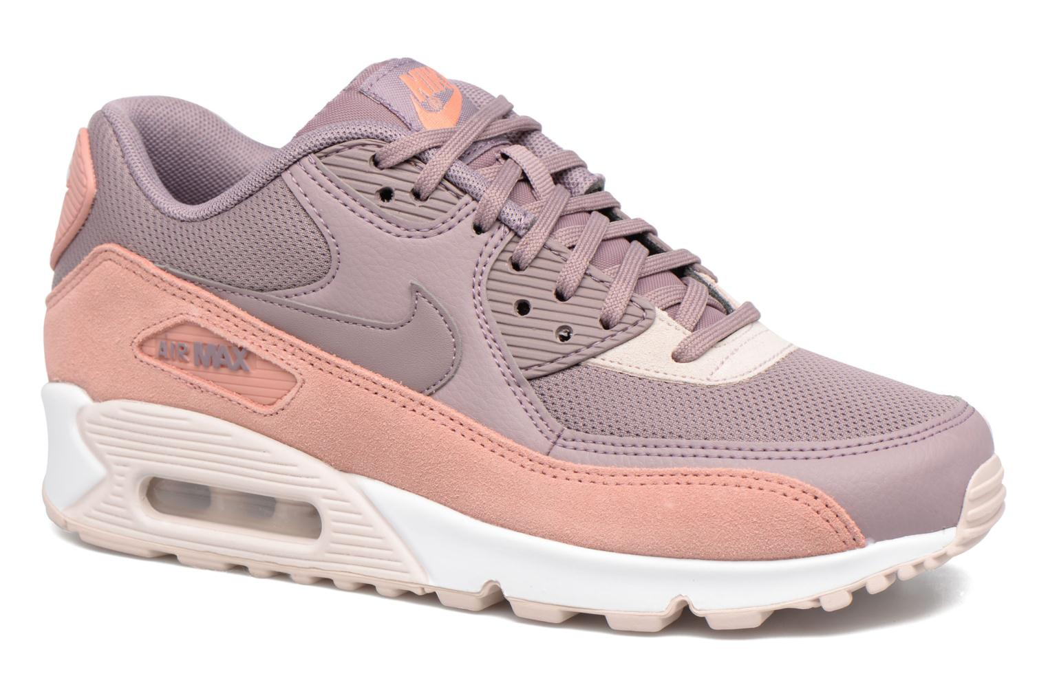Baskets Nike Wmns Air Max 90 Rose vue détail/paire