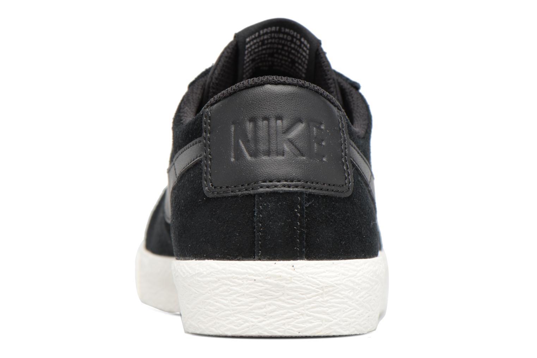 Sneakers Nike Blazer Low Zwart rechts