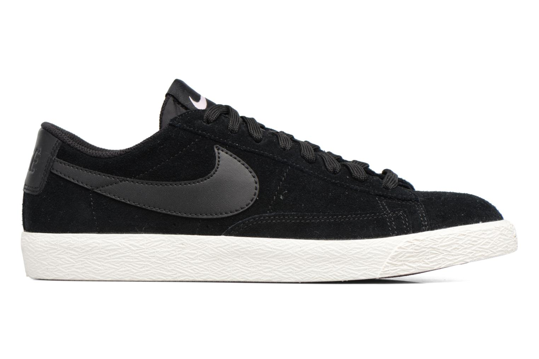 Sneaker Nike Blazer Low schwarz ansicht von hinten