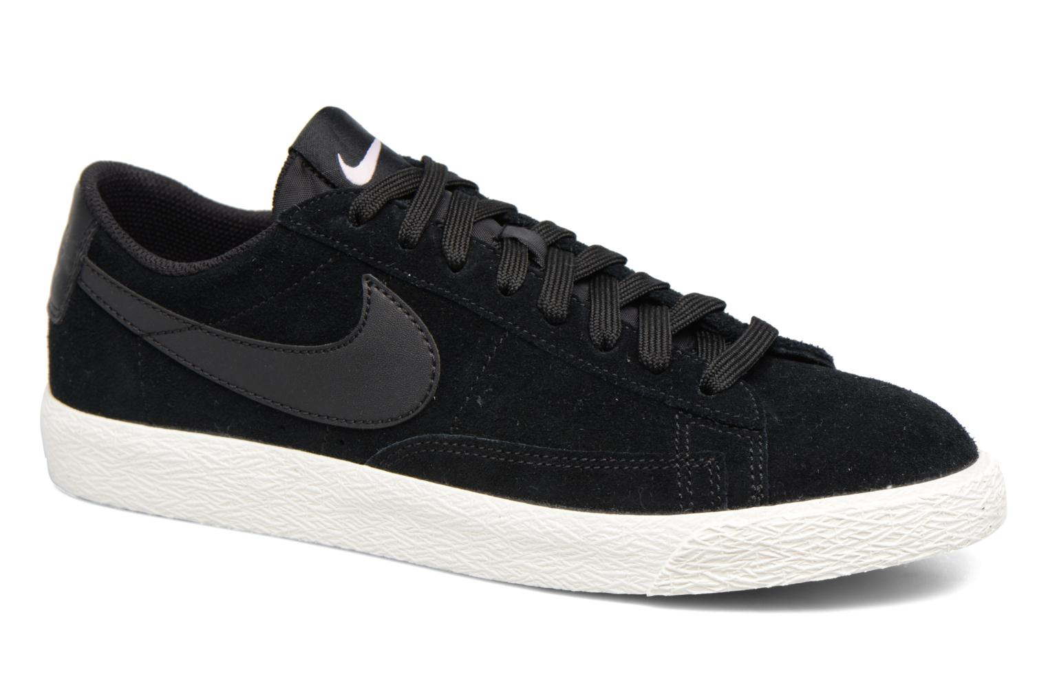 Trainers Nike Blazer Low Black detailed view/ Pair view