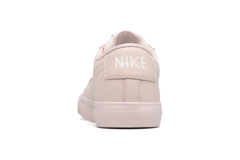 Deportivas Nike Blazer Low Beige vista lateral derecha