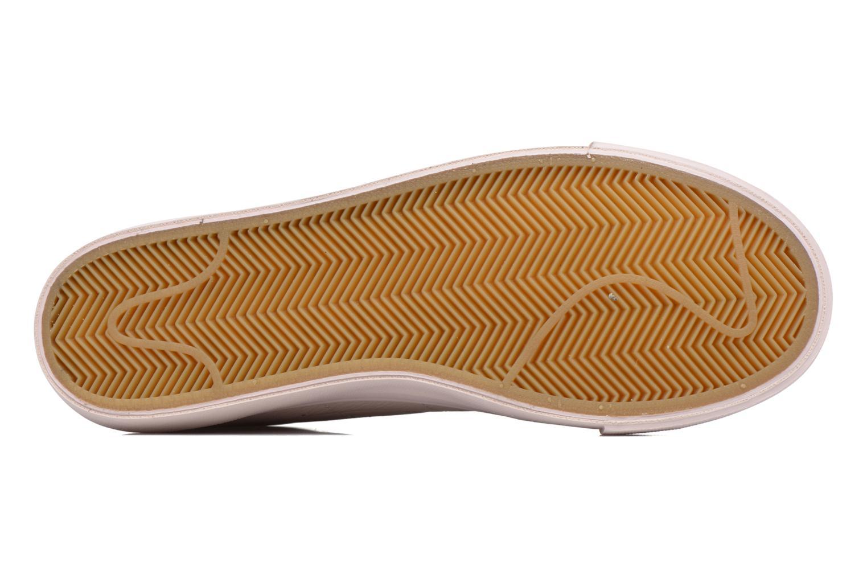 Baskets Nike Blazer Low Beige vue haut
