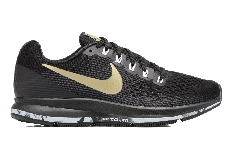 Chaussures de sport Nike Wmns Nike Air Zoom Pegasus 34 Noir vue derrière