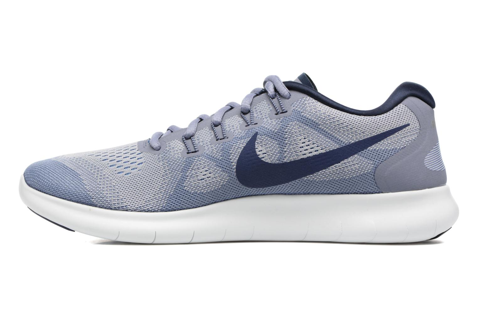 Nike Free Rn 2017 Wolf Grey/Binary Blue-Dark Sky Blue
