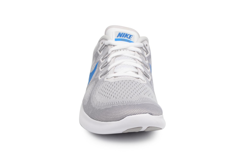 Chaussures de sport Nike Nike Free Rn 2017 Gris vue portées chaussures