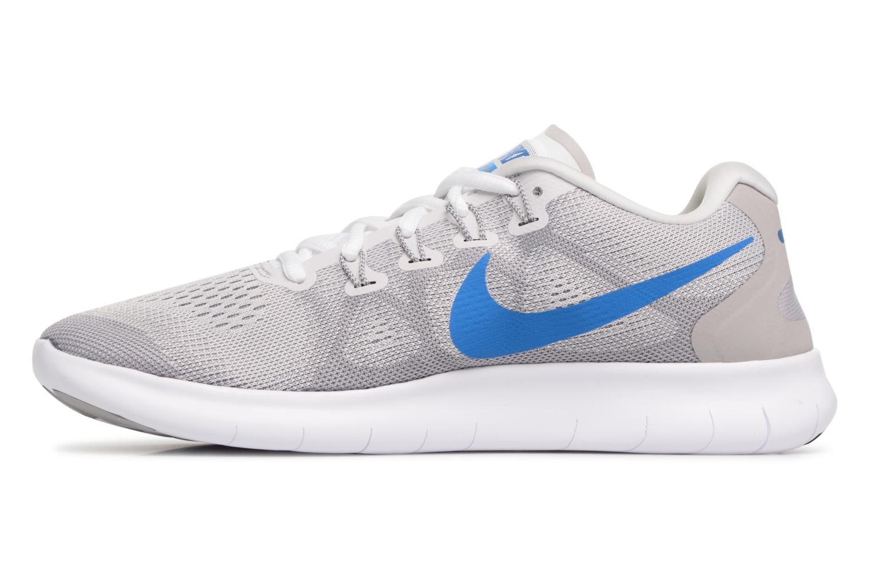 Chaussures de sport Nike Nike Free Rn 2017 Gris vue face