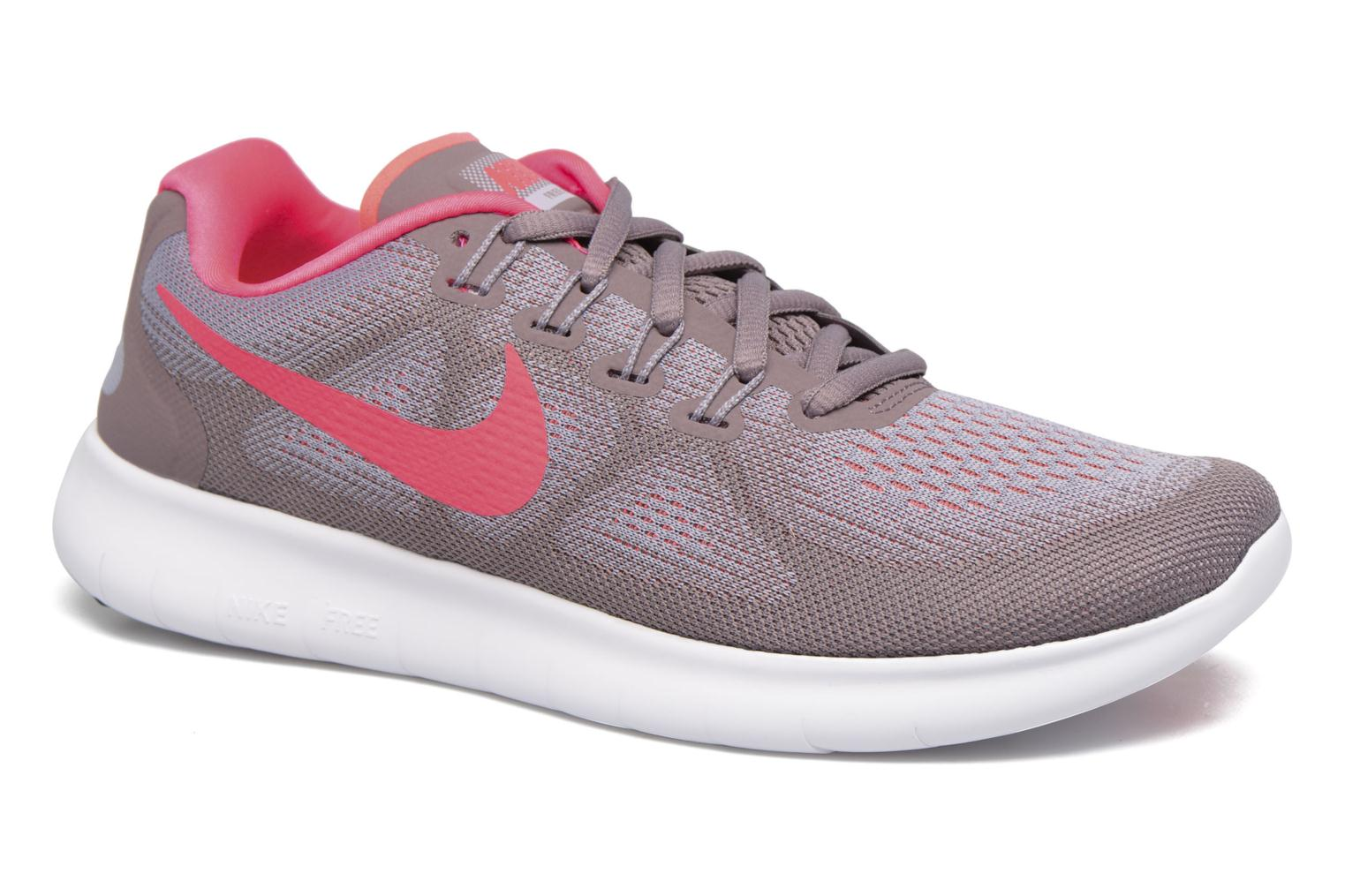 Wmns Nike Free Rn 2017 Provence Purple/Hot Punch-Taupe Grey