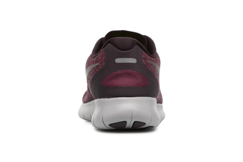Chaussures de sport Nike Wmns Nike Free Rn 2017 Violet vue droite