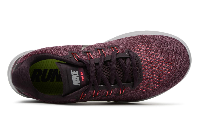 Chaussures de sport Nike Wmns Nike Free Rn 2017 Violet vue gauche