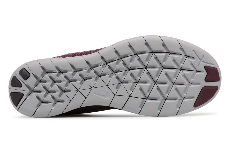 Chaussures de sport Nike Wmns Nike Free Rn 2017 Violet vue haut