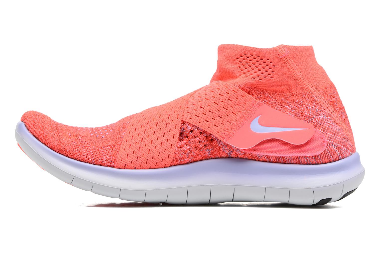 Sportssko Nike W Nike Free Rn Motion Fk 2017 Rød se forfra