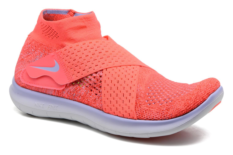 Sportssko Nike W Nike Free Rn Motion Fk 2017 Rød detaljeret billede af skoene