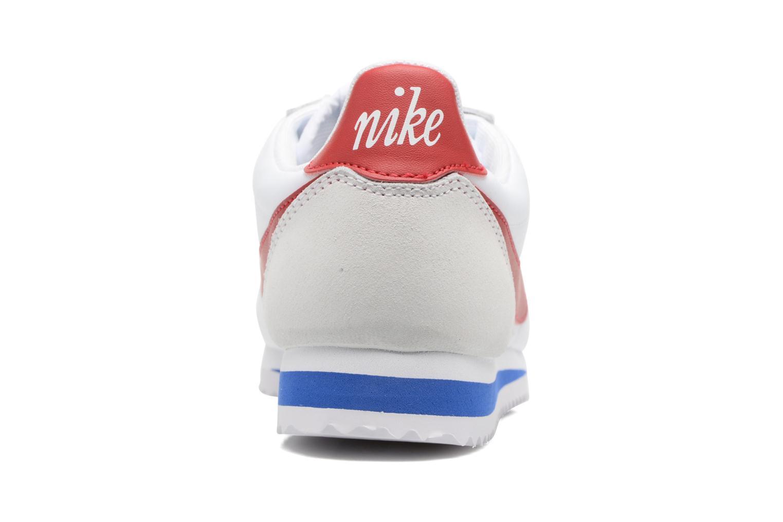 Baskets Nike W Classic Cortez Leather Se Blanc vue droite