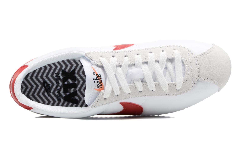 Baskets Nike W Classic Cortez Leather Se Blanc vue gauche