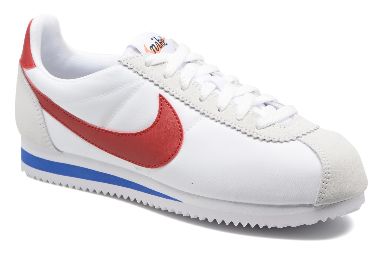 Baskets Nike W Classic Cortez Leather Se Blanc vue détail/paire