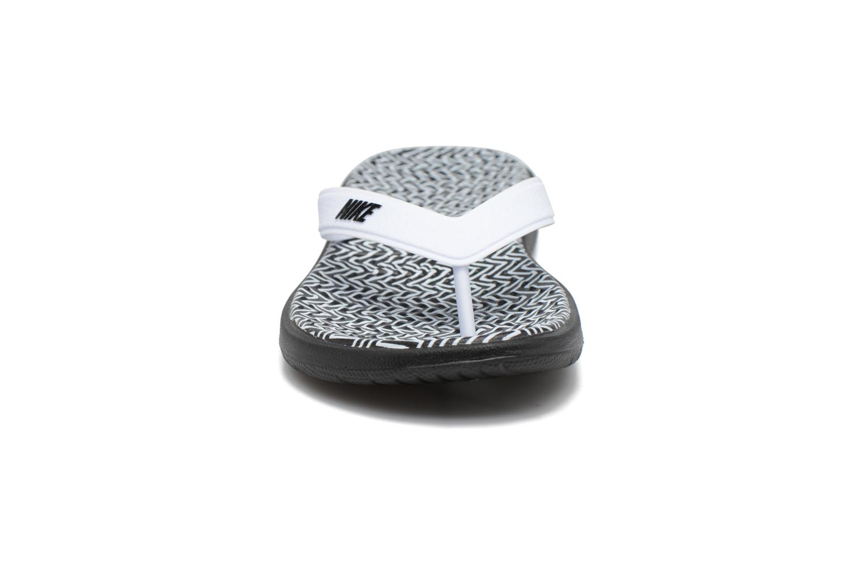 Flip flops Nike Nike Solay White model view