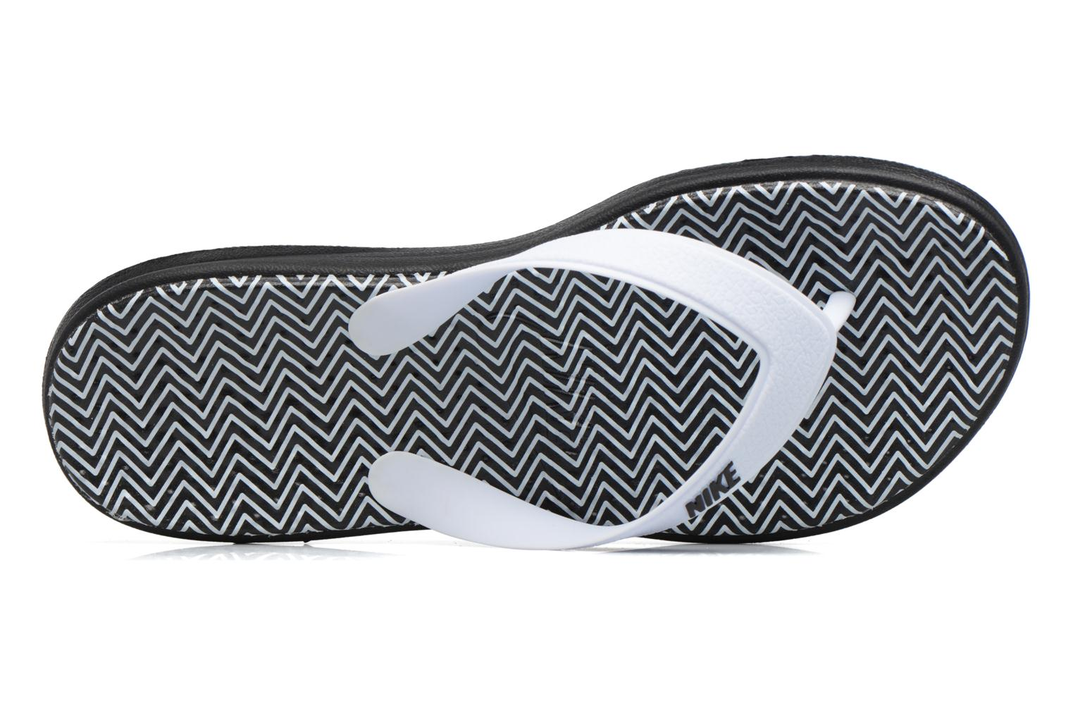 Flip flops Nike Nike Solay White view from the left