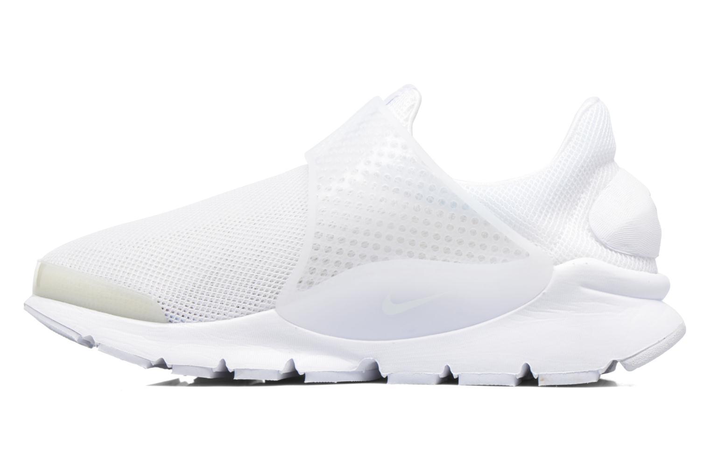 Wmns Nike Sock Dart Br WHITE/WHITE-GLACIER BLUE