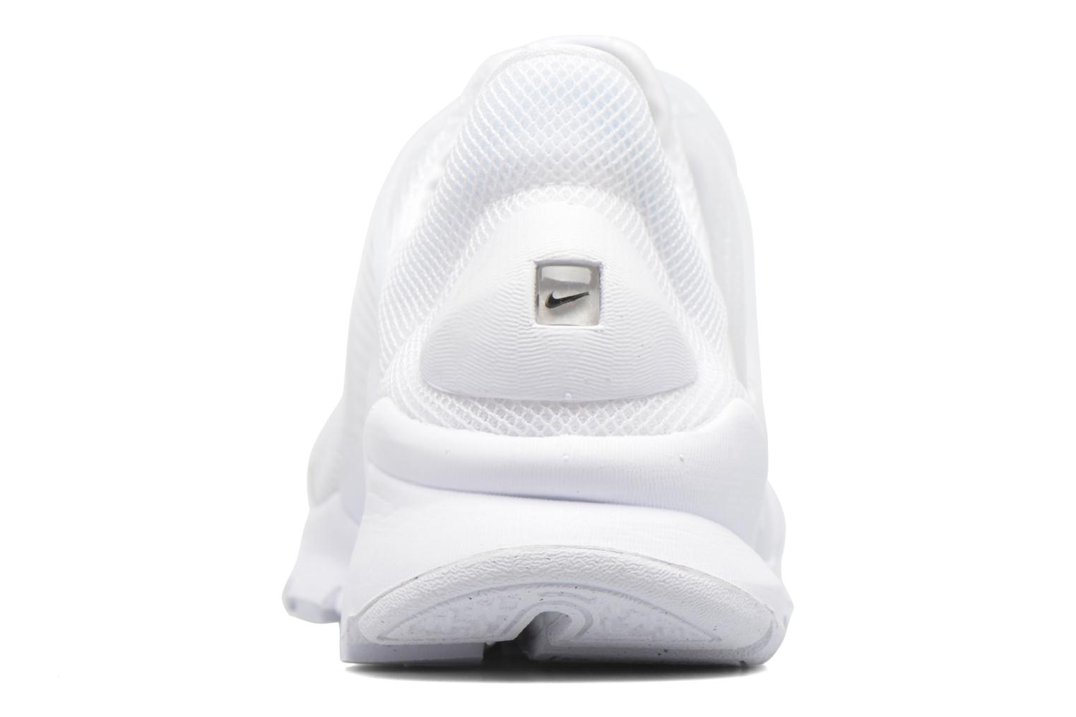 Trainers Nike Wmns Nike Sock Dart Br White view from the right