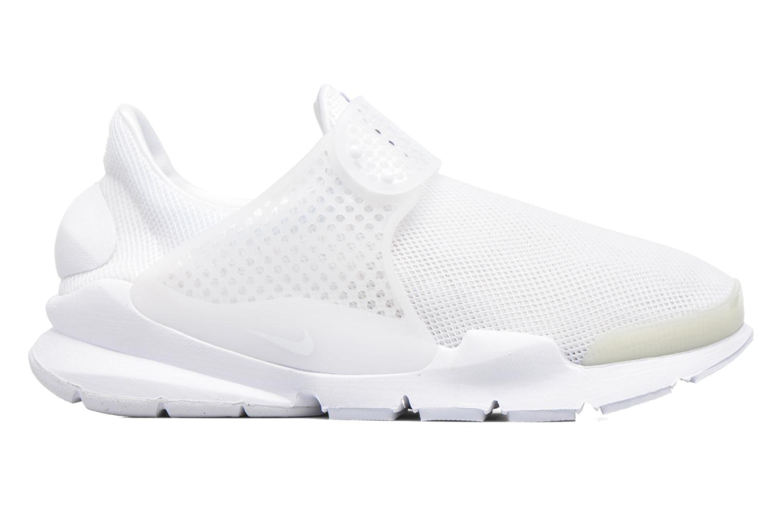 Sneakers Nike Wmns Nike Sock Dart Br Wit achterkant
