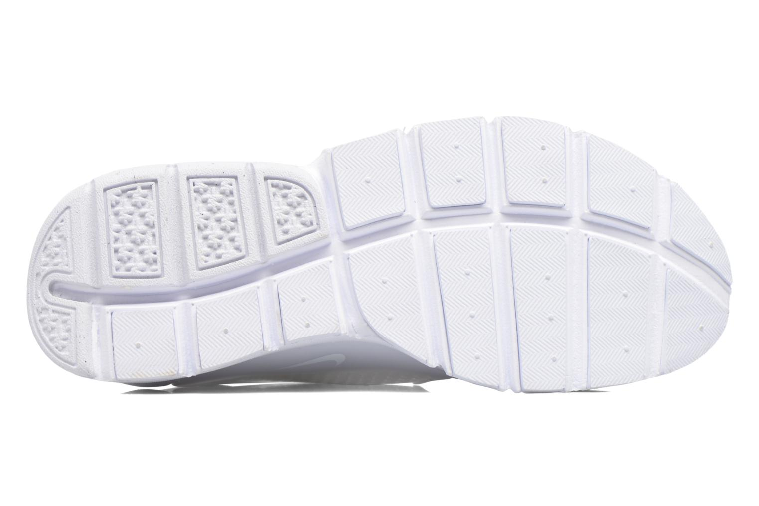 Trainers Nike Wmns Nike Sock Dart Br White view from above