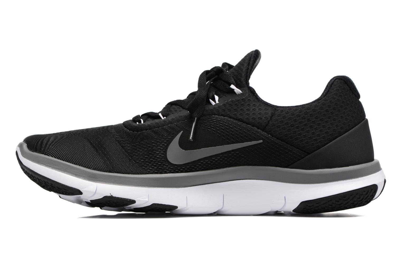 Sportschuhe Nike Nike Free Trainer V7 schwarz ansicht von vorne