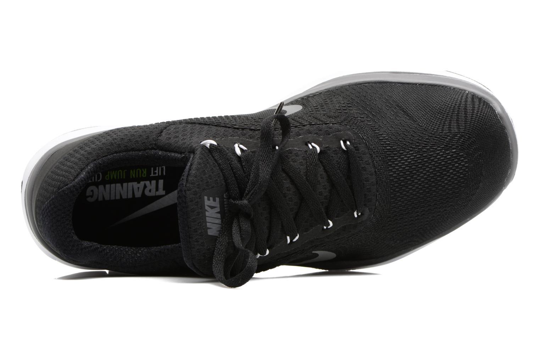 Sportschuhe Nike Nike Free Trainer V7 schwarz ansicht von links