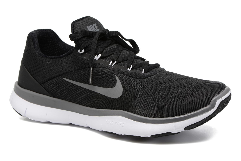 Sportssko Nike Nike Free Trainer V7 Sort detaljeret billede af skoene